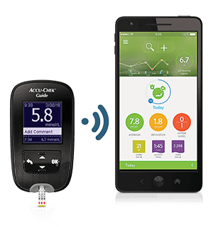 Accu-Chek Guide and MySugr