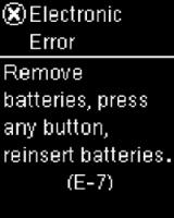 Guide Error Screens Accu Chek 174