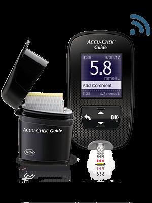 Accu-Chek Guide meter image
