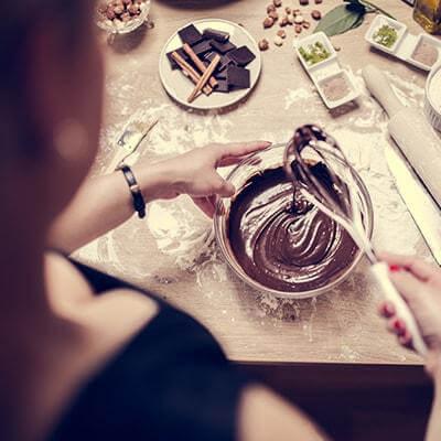 Écorce de chocolat noir